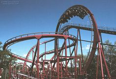 Iron Wolf roller coaster at Six Flags Great America