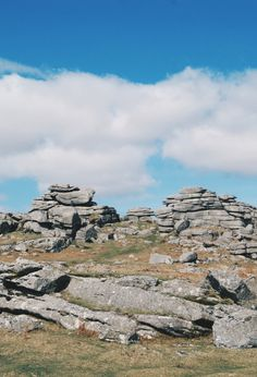 Pew Tor // from 'Visiting Dartmoor - The People's National Park'