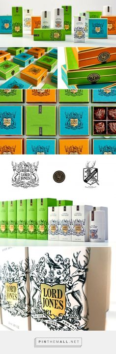 Lord Jones packaging design by Werner Design Werks - http://www.packagingoftheworld.com/2016/12/lord-jones.html