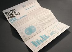 unique resume design // Interesting Branding Packages Made By Designers For Their Clients Cv Inspiration, Graphic Design Inspiration, Cv Design, Resume Design, Design Ideas, Bristol, Cv Web, Unique Resume, Ideas