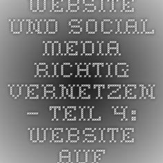 Website und Social Media richtig vernetzen – Teil 4: Website auffindbar machen und Impressumspflicht | In Sachen Kommunikation