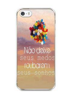 Capa Iphone 5/S Frase #3 - SmartCases - Acessórios para celulares e tablets :)