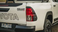 2018 Toyota HiLux Rugged X manual review - photos | CarAdvice Toyota Hilux, Manual, Rugs, Car, Photos, Farmhouse Rugs, Automobile, Pictures, Photographs