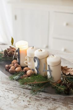 Minty House, Advent, Christmas time, Xmas, nature decoration
