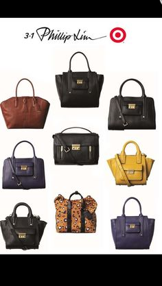 2c8a1d02ed3 Philip Lim for Target handbags - I WILL own one of these bags on Sunday!