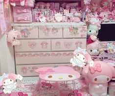 Cute Room Ideas, Cute Room Decor, Pastel Room, Pink Room, Kawaii Bedroom, Otaku Room, Room Ideas Bedroom, Bedroom Inspo, Gamer Room