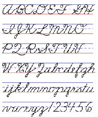 Palmer method handwriting worksheets
