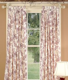 Andrea Tab Top Insulated Botanical Toile Curtains Also In Slate BLUE SAGE Green These