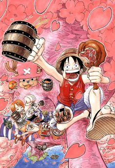 One Piece Color Walk Artbook Chap Walk3-03 trang 4