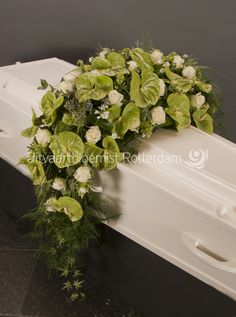 Casket Flowers, Grave Flowers, Funeral Flowers, Funeral Floral Arrangements, White Flower Arrangements, Casket Sprays, Memorial Flowers, Sympathy Flowers, Flower Decorations