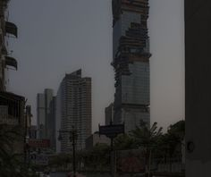 "architectureofdoom: ""  MahaNakhon under construction, Bangkok """
