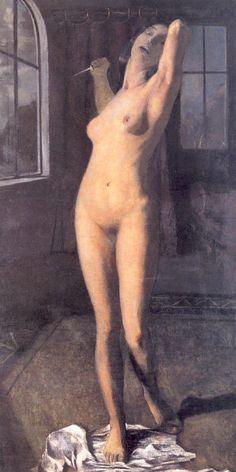 Otto Müller, Lucretia, c. 1903, oil on canvas