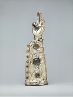 Arm Reliquary, 13th century (with 15th century additions). French