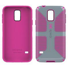 Samsung Galaxy S5 Case - Speck CandyShell - Grey/Pink (Spk-A2690)