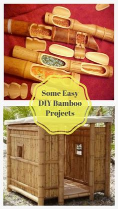 Easy DIY Bamboo Design Ideas #diybambooideas Bamboo Crafts, Bamboo Design, Bamboo Ideas, Easy Diy, Diy Projects, Design Ideas, Amazing, Pots, Elegant