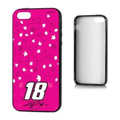 Kyle Busch 18 Swede Apple iPhone 5/5S Bumper Case