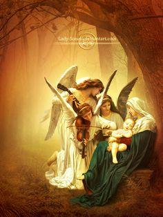 Angels Tones  by lady-sonata