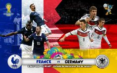 France Vs Germany Quarter Final Live Stream online TV HD 4-07-2014