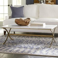 white coffee table designs