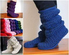 Crochet Cozy Boots