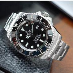 Nice shot of a Rolex Deep Sea Ref. 116660