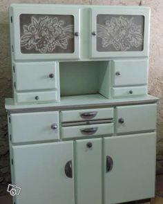 diy : relooking de mon buffet vintage des années 50 - meuble ... - Meuble De Cuisine Vintage