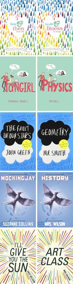 DIY Binder Covers inspired by YA Books – Back to School 2015 | Karen Kavett  #BacktoSchool