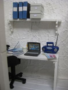 miniature office