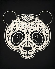 Day of the Dead Panda | Flickr - Photo Sharing!
