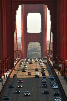 Drive over the Golden Gate Bridge. San Francisco, CA. Vacation Got some great photos. Places Around The World, Oh The Places You'll Go, Places To Travel, Around The Worlds, Ponte Golden Gate, Golden Gate Bridge, Beautiful World, Beautiful Places, Wonderful Places