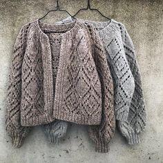Ladies Cardigan Knitting Patterns, Knit Cardigan Pattern, Knitting Stitches, Knitting Patterns Free, Chunky Cardigan, Lace Patterns, Knitting Projects, Mantel, Knit Crochet