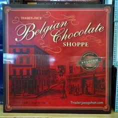 Trader Joe's Belgian Chocolate Shoppe 16.6oz/ $9.99 トレーダージョーズ ベルギーチョコレート アソートメント