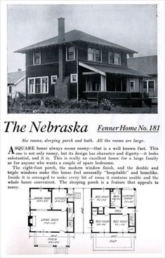 65 best four square homes images vintage house plans floor plans rh pinterest com