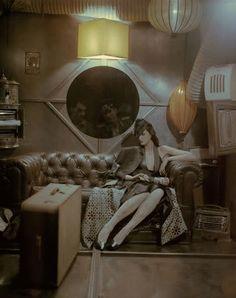 Dieselpunk fashion (Page — Café Metropole — Smoking Lounge — A message-board community for all things steampunk, dieselpunk, retro and pulp Diesel Punk, House Of Worth, Up Theme, Art Deco, Dark City, Goth Art, Retro Futuristic, Victorian Era, Cyberpunk