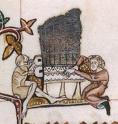 The Gorleston Psalter Date 1310-1324 Add MS 49622 Folio 117r