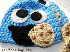 Cookie Monster Hat |