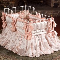 Provence Crib Bedding by Lulla Smith