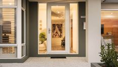 Our Sentry doors have that solid, reassuring feel, with a perfect fit they are watertight. Advanced security features ensuring your ultimate peace of mind. Security Screen, Double Front Doors, External Doors, Display Homes, Peace Of Mind, Perth, Oversized Mirror, Entrance, Perfect Fit