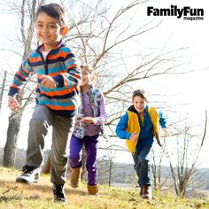 3 Walking Games for Kids: A pre- or post-feast constitutional does everyone good. If your crowd needs a little extra encouragement, try these ways to spice up a stroll.