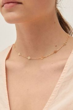 Gold Choker Necklace - dainty choker/ delicate choker/ thin choker/ dainty gold necklace/ layering choker/ trendy choker/ gifts for her - Fine Jewelry Ideas Diy Necklace, Stone Necklace, Jewelry Necklaces, Gold Necklace, Silver Jewelry, Jewellery, Silver Ring, Silver Necklaces, Delicate Necklaces