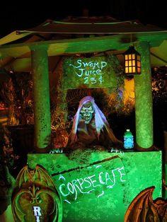 Swamp Juice Corpse Cafe - Halloween decor - Haunted theme