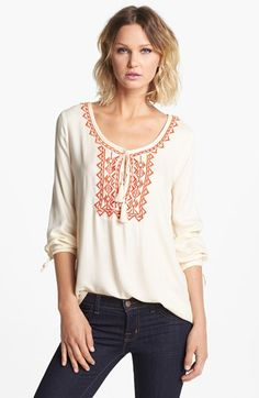 Soft Joie 'Calathia' Embroidered Tunic available at #Nordstrom