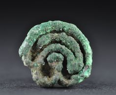 Bactrian bronze stamp seal, 2nd millenium B.C. Bactrian bronze stamp seal with loop, 2.4 cm large, 11.6 gr weight. Private collection