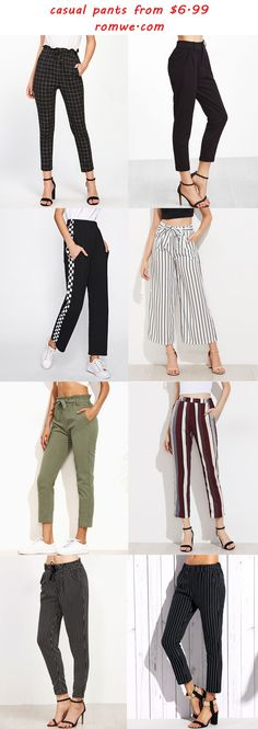 casual pants for fall -  romwe.com