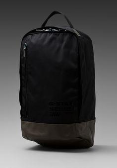 G-STAR Daniel Originals Backpack in Black at Revolve