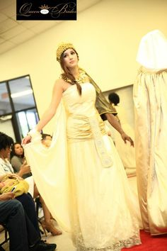 Representing Egyptian Queen Cleopatra VII