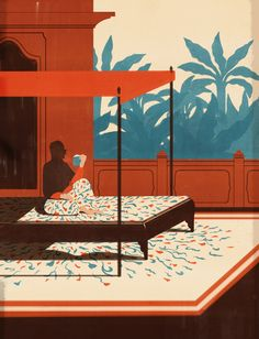 """crossconnectmag: """"Selected works by illustrator Emiliano Ponzi Based in Milan, Italy, Emiliano's lush brushstrokes create contemporary scenes with unique personalities. His painterly style pops with..."""