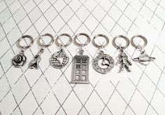 doctor who stitch markers.  Pssst @Amber P