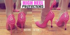 I WANT TO REVIEW these high heel protectors that I bought to add protection to the bottom of my good heels. I ended up getting them because I hate when the bottom of my good heels wear out and get …