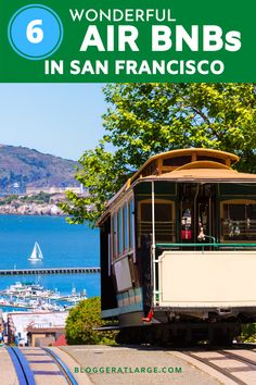 I've done all the work for you so you don't have to trawl through endless Air BnB listings and reviews to find the perfect place for your San Francisco vacation! Here are 6 fun, quirky and charming cottages, apartments and even a boat(!) to stay in in SF. #SanFranciscoAirBnB #SanFranciscoAccommodation #SFtravel #Travel #SanFrancisco